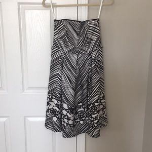 NWT White House Black Market strapless dress.